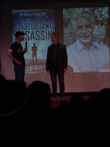 Eoin Colfer and Rick Riordan