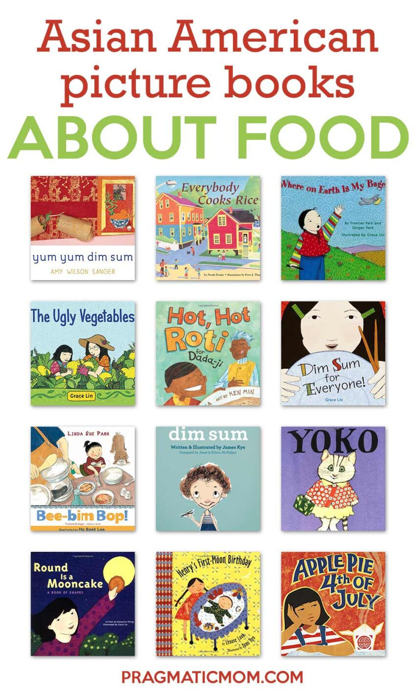 Asian American Picture Books about Food