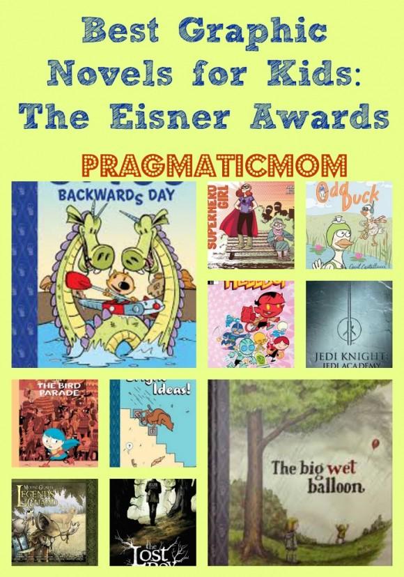 Best graphic novels for kids the Eisner awards