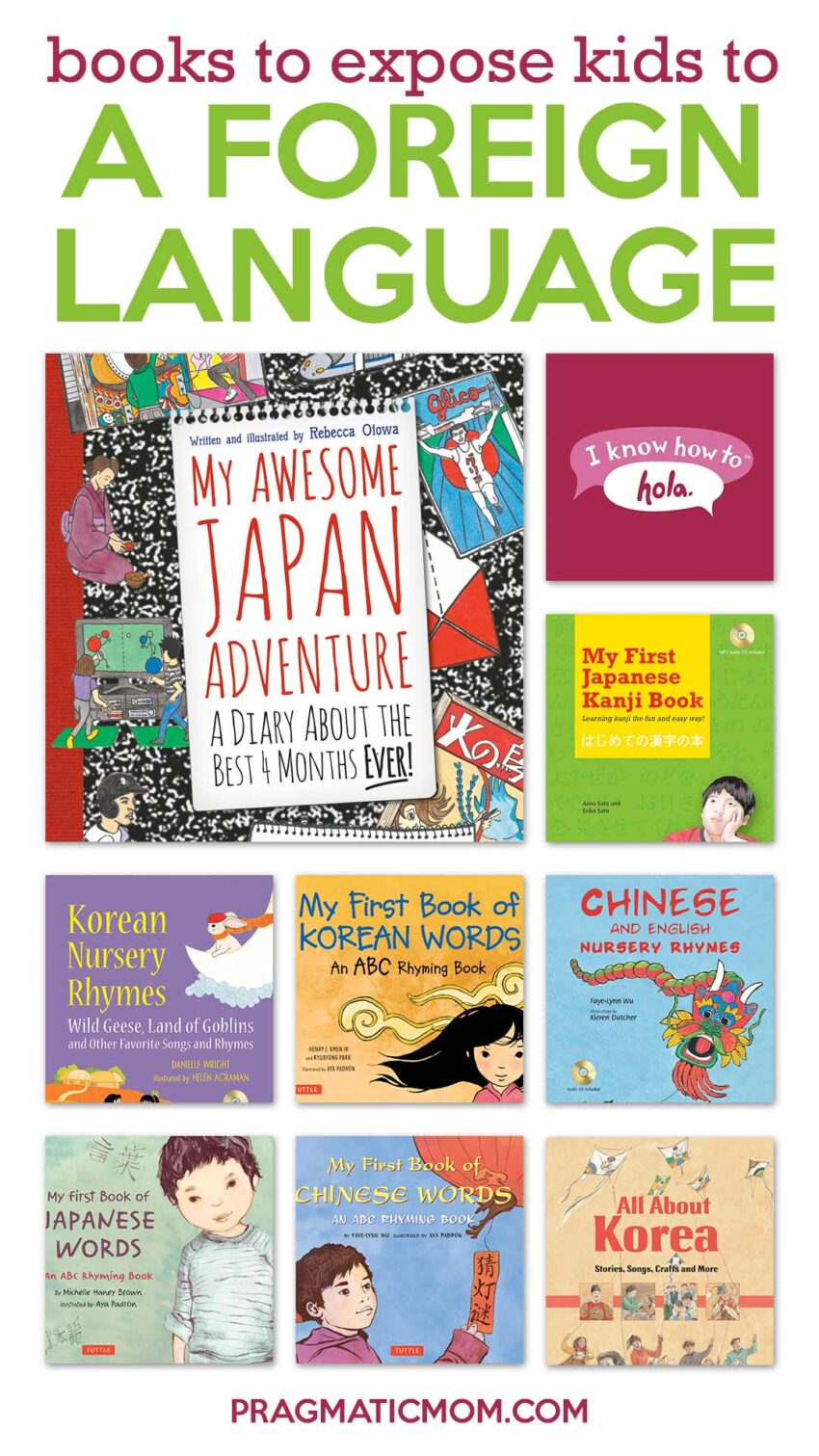 Books to Expose Kids to a Foreign Language