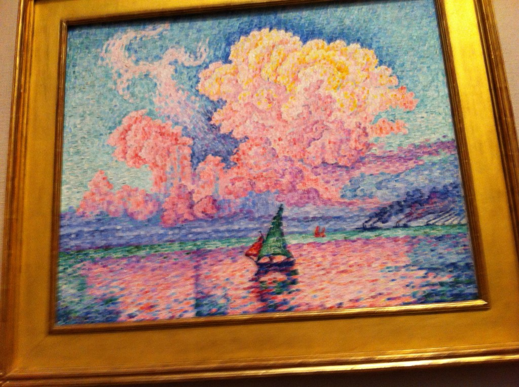 pointillism and impressionist art