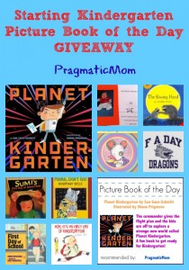 Starting Kindergarten Picture Book of the Day giveaway and other starting Kindergarten resources