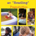 summer reading ideas, what counts as reading