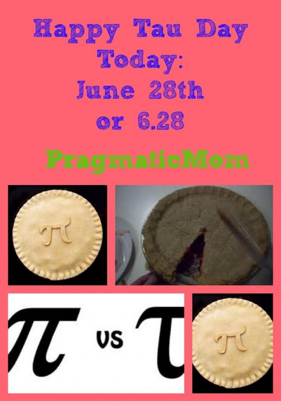 Happy Tau Day, June 28, Tau Day, 6/28/2014