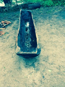 Plimoth Plantation Native Americans, native american canoe