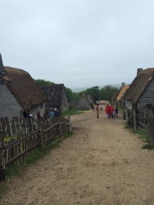 Plimoth Plantation Faceoff: English Settlers