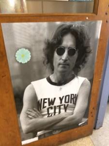 John Lennon of Beatles poster