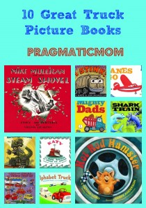 Top 10 Truck Books for toddlers and preschool