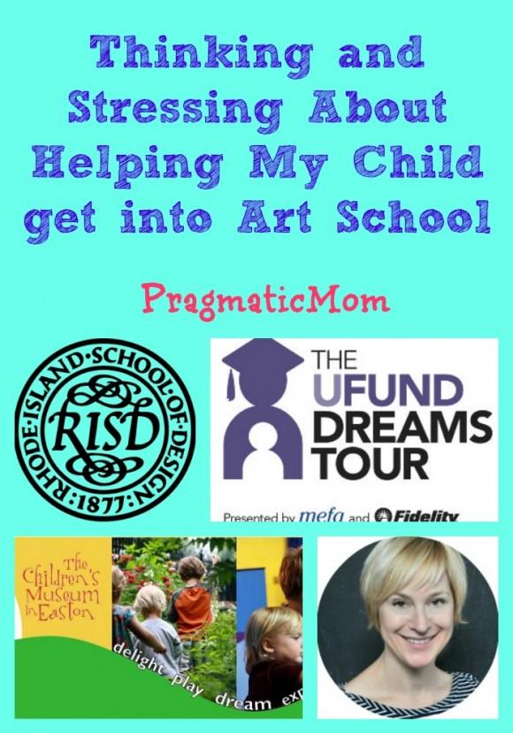 helping my child get into art school