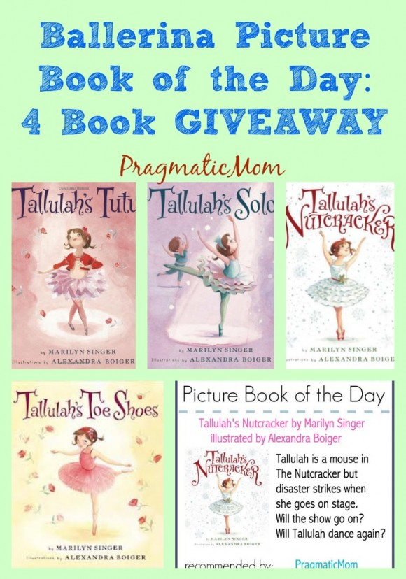 ballet four picture book giveaway