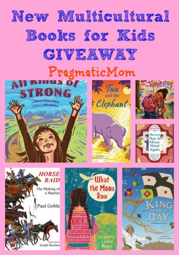 New Multicultural Books for Kids GIVEAWAY