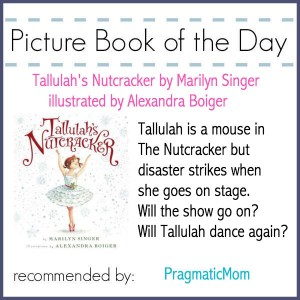 Tallulah Picture Book of the Day ballet giveaway