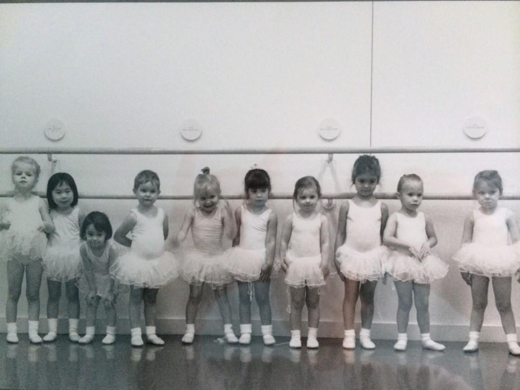 first ballet class at Boston Ballet
