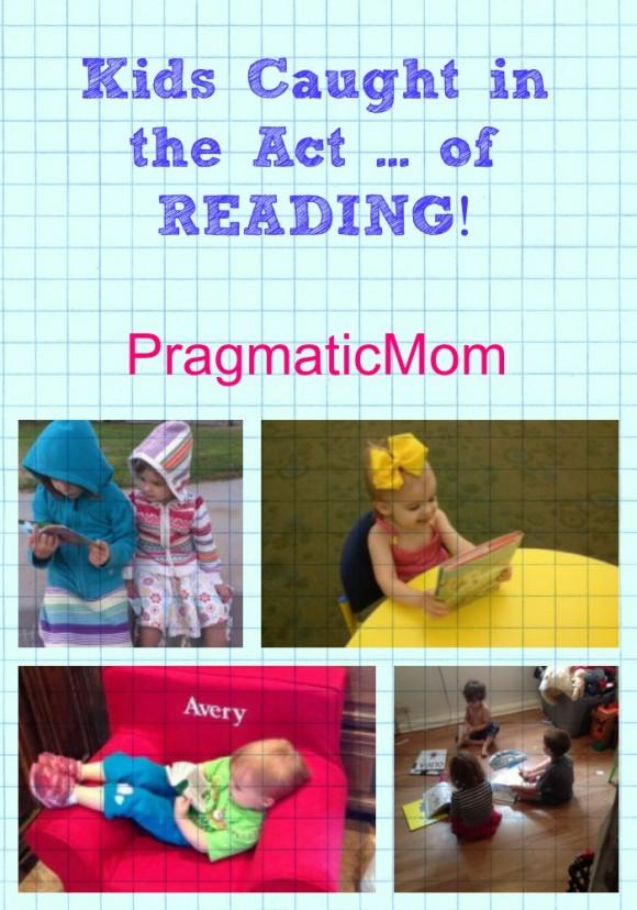 kids caught reading
