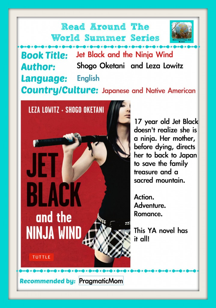 read around the world series, Jet Black and the Ninja Wind