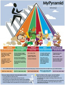 food pyramid of healthy choices for kids