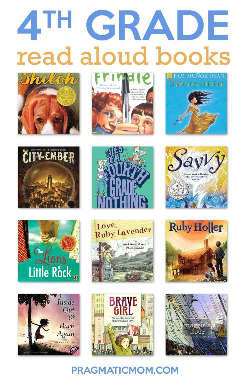 4th grade read aloud books