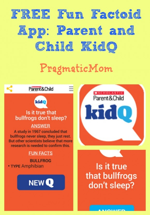FREE Fun Factoid App: Parent and Child KidQ