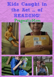 Kids Caught in the Act ... of READING!