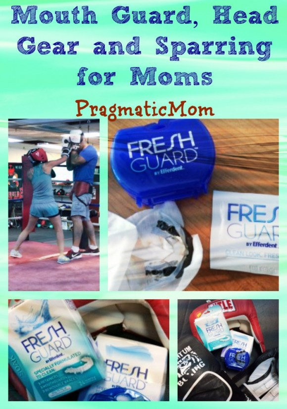Mouth Guard, Head Gear and Sparring for Moms