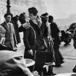 The Kiss by the Hôtel de Ville by Robert Doisneu was staged