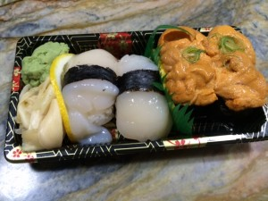 sushi for Moonshadow Reading Under the Covers
