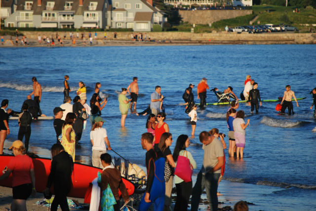 autistic kids and surfing in maine