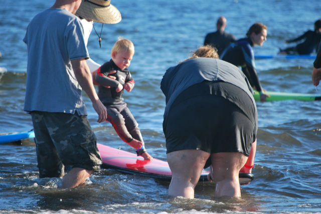 kids with special needs and surfing