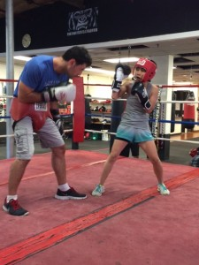 moms and boxing, moms and sparring