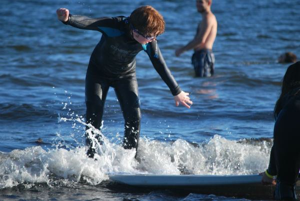 special needs surfing night for kids
