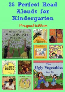 26 perfect read aloud picture books for kindergarten