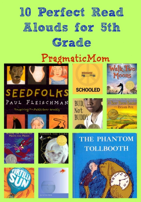 10 perfect read alouds for 5th grade