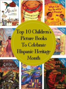 picture books Hispanic Heritage month from Babble