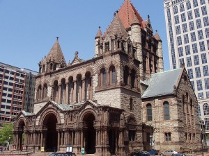 Trinity Church, H H Richardson, Copley Plaza Boston