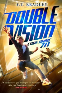 F. T. Bradley Double Vision series giveaway, reluctant readers, chapter books for boys series giveaway