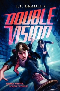 F. T. Bradley Double Vision series giveaway, books for boys