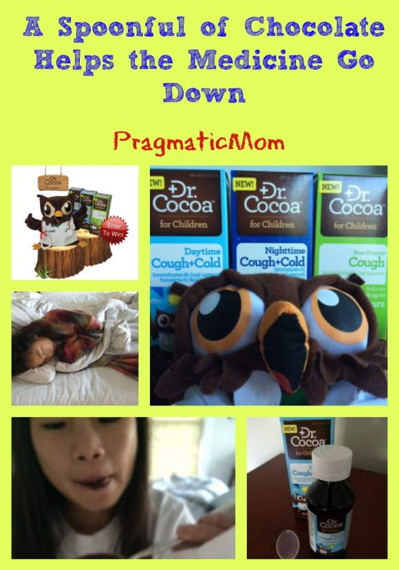 chocolate medicine for kids Dr. Cocoa