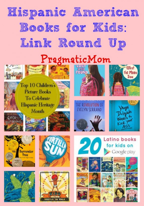 Hispanic American Books for Kids: Link Round Up