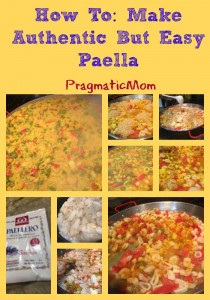 How To: Make Authentic But Easy Paella