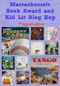 Massachusetts Book Awards for children's books and the Kid Lit Blog Hop