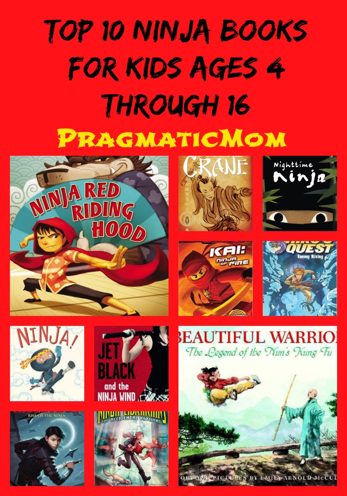 Top 10 Ninja Books for Kids