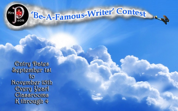 Be a Famous Writer Contest, Mrs. P