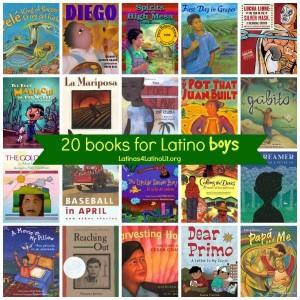 20 Books for Latino Boys