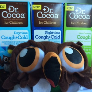 A Spoonful of Chocolate Makes the Medicine Go Down. Dr. Cocoa cold and cough medicine for kids