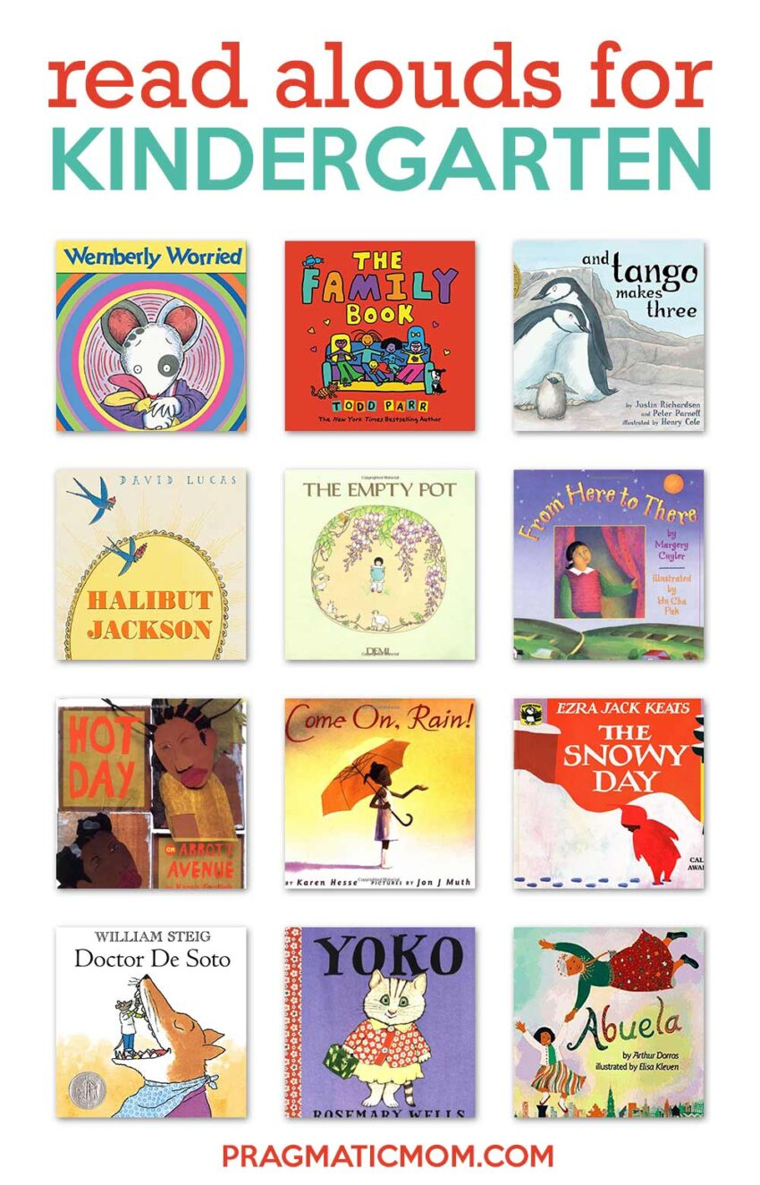 Read Alouds for Kindergarten