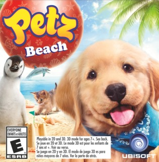 Petz Beach 3DS game