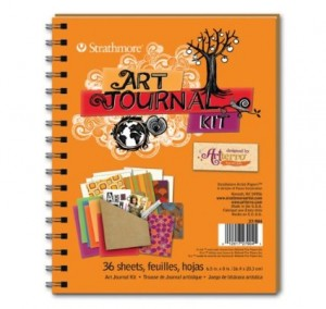 Strathmore art journal kit
