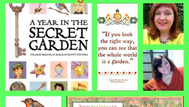 A Year in the Secret Garden blog tour, Valarie Budary, Marilyn Scott Waters
