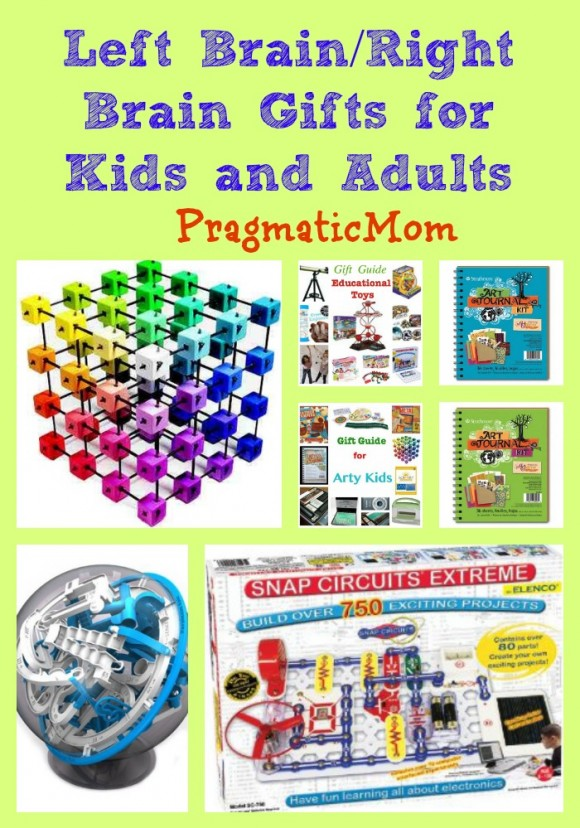 Toys For Days : Left brain right gifts pragmaticmom