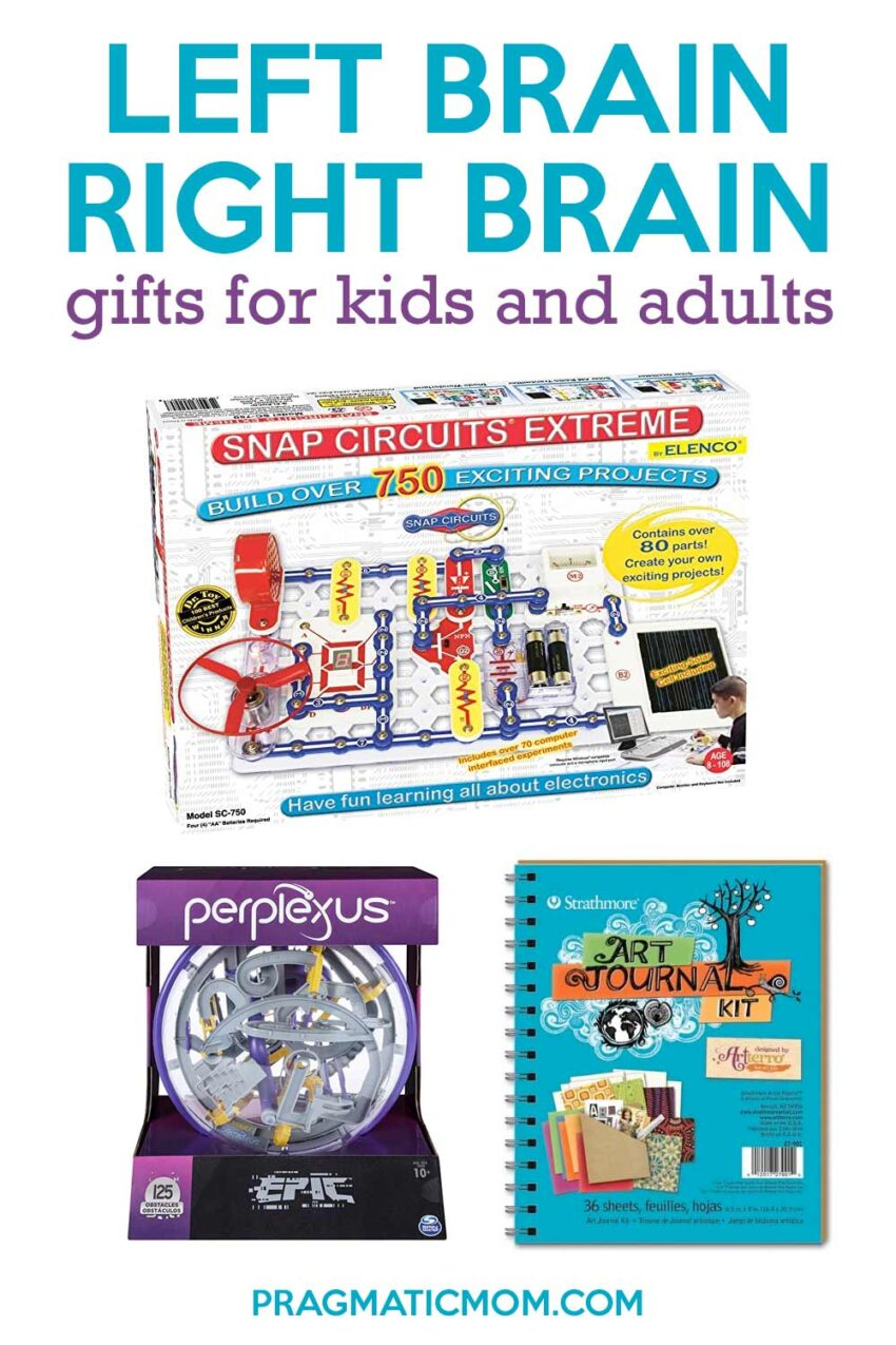 Left Brain/Right Brain Gifts: Day 8 of 12 Days of Shopping